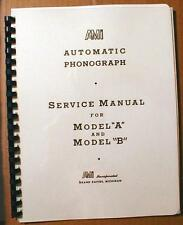 AMI Model A&B Jukebox Manual