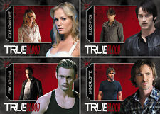 True Blood Premiere Edition Shadowbox Complete 4 Card Chase Set Sookie Bill Eric
