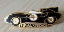 PIN'S PROTO LE MANS JAGUAR D TYPE 1957 LES 24 HEURES DU MANS DORE