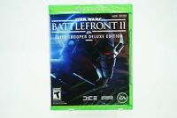 Star Wars Battlefront II Deluxe Edition: Xbox One [Brand New]