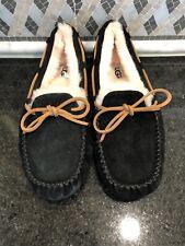 Women's UGG Black Dakota Slippers- Size 8- #5612