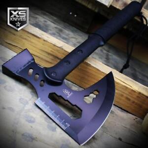 "Buckshot 17"" Black Tactical TOMAHAWK Throwing Axe COMBAT Multi Tool SURVIVAL"