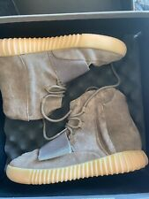 ADIDAS YEEZY BOOST 750 LIGHT BROWN GUM (CHOCOLATE) SIZE 9