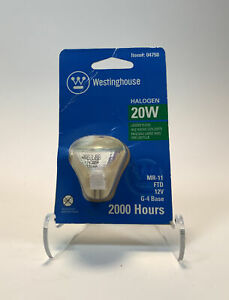 Westinghouse Mr11 Lensed Halogen Light Bulb 20 W 1-1/4 In. Boxed - Pack of 4