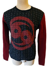 Custo Barcelona 69 sweater shirt long zodiac CANCER astrology spain patch large
