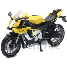 New Ray 2016 Yamaha YZF R1 Bike Motorcycle 1:12 Model 57803 B Yellow