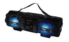 Naxa NPB-262 MP3/CD/USB/AUX Bass Reflex Boombox & PA System w/Bluetooth/Remote