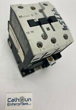 Moeller DIL1M Motor Contactor, 3 Pole, 55 Amp, 600VAC, 110/120v Coil *WARRANTY*