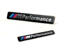 LOGO M PERFORMANCE BMW METÁLICO 3D ADHESIVO EMBLEMA NEGRO E46 E60 E90 E92 F20