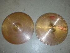 "Paiste 2002 Sound Edge 14"" Hi Hat Cymbals percussion"