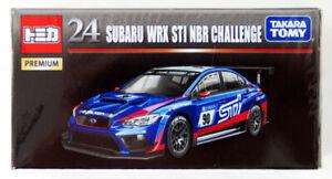 Takara Tomy TOMICA PREMIUM 24 Subaru WRX STI NBR Challenge 1:62 DIECAST CAR seal