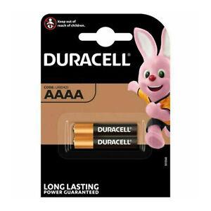 Duracell AAAA Ultra Alkaline Batteries 1.5V MN2500 E96 MX2500 LR61 LR8D425 Packs
