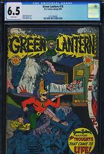 GREEN LANTERN #15 - CGC-6.5, WP - Golden Age