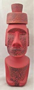 Moai Full Size Stacker Tiki Mug w/ Pukao 62/100 by Munktiki