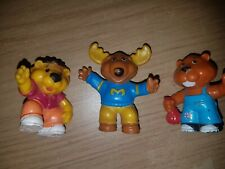 Vintage 1980s Get Along Gang PVC Vinyl Toy Figures Collectables Toys