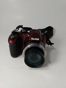 Red Kodak Pixpro az401, built in flash, 16 megapixel, Entry-level DSLR