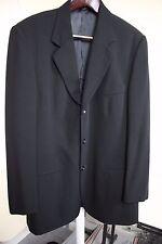 Banana Republic 100% Wool Black Lined 2 Button Blazer Size - 40R