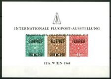 AUSTRIA - Erinnofili -1968 - Foglietto IFA WIEN 1968