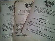 DECRETO 1877 COMUNE DI VARENGO COSTITUITO IN SEZIONE ALETTORALE AUTONOMA DA ALES