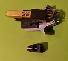 Cellule Ortofon ULM60E stylet OM-20 + platine Dual TK 260 cell, stylus & adapter