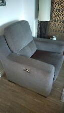 Furniture Village Rodeo 3 seater sofa with matching power recliner chair