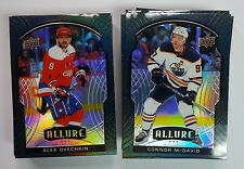 2020-21 Upper Deck Allure Hockey BLACK RAINBOW BASE Parallels (Pick Your Own)