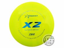 New Prodigy Discs 750 X2 174g Yellow Blue Foil Distance Driver Golf Disc