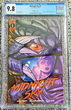 Midnight Sky #1 Ralf Singh Movie Poster Homage Variant CGC 9.8 Scout Comics 2019