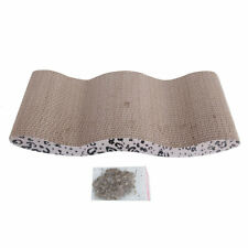 New listing Cat Scratching Board Post Pet Scratcher Sofa Bed Mat Tree Toy Pad with Catnip
