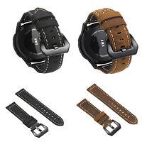 Genuine Leather Smart Watch Band Buckle Wrist Strap Bracelet For Samsung Gear S3