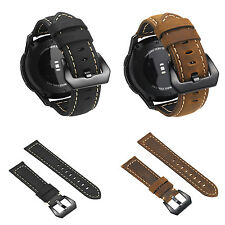 For Fossil Q Explorist HR Gen 4/3 Genuine Leather Wrist Strap Watch Band