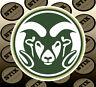 Colorado State Rams Logo NCAA Vinyl Die Cut Sticker Car Window Bumper Decal