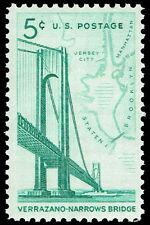 Scott # 1258 - 1964 - ' Bridge & Map of New York '