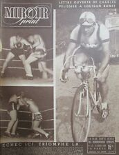 CYCLISME TOUR DE FRANCE de 1948 ETAPES TOULOUSE MONTPELLIER MARSEILLE