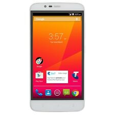 "ZTE Telstra 4GX Plus A462 4G 5.0"" Quad-core White Unlocked Mobile"