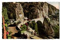 CPSM 06 Alpes-Maritimes Menton frontière Franco-Italienne Pont Saint-Louis animé