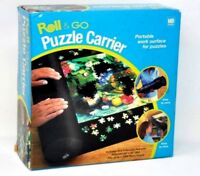 "Hasbro Roll & Go Jigsaw Puzzle Carrier Holds Up to 1000 Pc Puzzle 34"" x 48"" Mat"