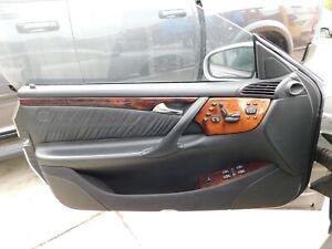 W215 CL500 CL600 CL55 LEFT FRONT DOOR TRIM PANEL -  BLACK