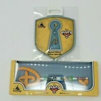 Disney Pluto 90th Anniversary Special Edition Key And Pin Set