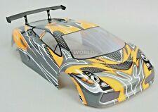 1/10 RC Car Body SHELL LAMBORGHINI GALLARDO Painted + Finished  200mm