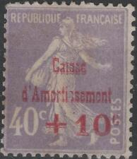 """FRANCE STAMP TIMBRE N° 249 b """" CAISSE AMORTISSEMENT VARIETE """" NEUF (x) TB K224"""