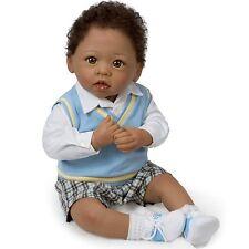 Michael Fully Posable Ashton Drake Doll by Linda Murray 22 inches