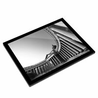 A3 Glass Frame BW - Kazan Cathedral St Petersburg Russia  #43095