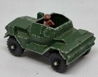 Corgi Juniors vintage Daimler Scout Car made in Great Britain vintage