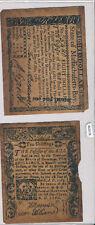 1780 $80/10 Shillings vintage reprint RC0178 combine shipping