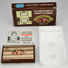 Nintendo Game and Watch Donkey Kong II 2 Multi Screen JR-55 LCD Handheld Boxed