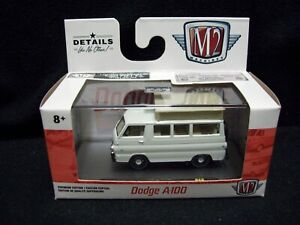 M2 Machines 1964 Dodge A100 Camper Van Limited Edition.