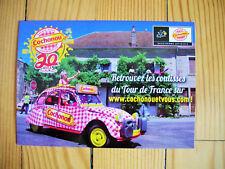 Carte postale Cochonou Tour de France 2018 caravane goodies collection vacances
