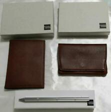 American Express Gift 3 set Inkless metal pen, Tissue case,  PassPort case