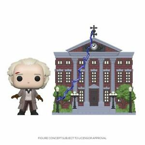 Figurine Funko Pop Back to the Future Pop! Town Doc Clock Tower New IN Stock